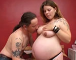 imagen Heavy follando con una mujer preñada