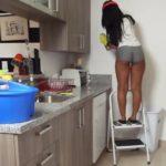 imagen La tia buena de la limpieza