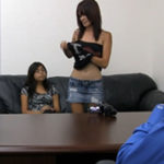 imagen Amigas se presentan juntas a casting porno