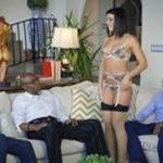 imagen Casada insatisfecha con tres negros