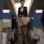 imagen Azafatas de vuelo sin uniforme muy atentas