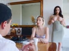 imagen MILF seduce al joven novio de su hija